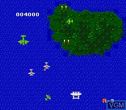 Image in-game du jeu 1942 sur Nintendo NES