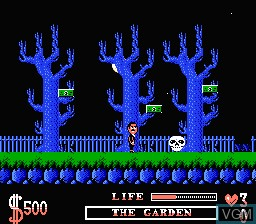 Image in-game du jeu Addams Family, The sur Nintendo NES