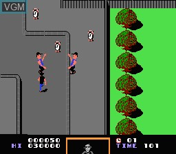 Image in-game du jeu Back to the Future sur Nintendo NES