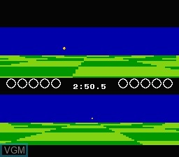 Image in-game du jeu Ballblazer sur Nintendo NES