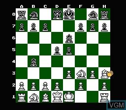 Image in-game du jeu Chessmaster, The sur Nintendo NES