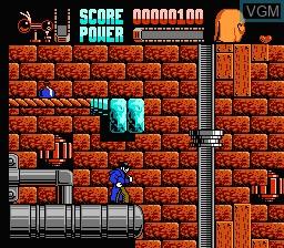 Image in-game du jeu Darkman sur Nintendo NES