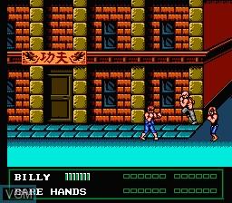 Image in-game du jeu Double Dragon III - The Sacred Stones sur Nintendo NES