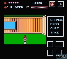 Image in-game du jeu Friday the 13th sur Nintendo NES