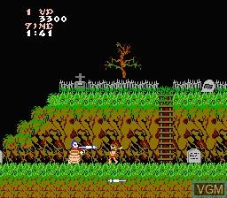 Image in-game du jeu Ghosts 'N Goblins sur Nintendo NES