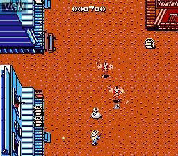 Image in-game du jeu Gun.Smoke sur Nintendo NES