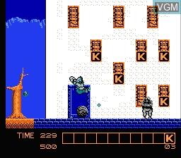 Image in-game du jeu Karnov sur Nintendo NES