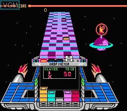 Image in-game du jeu Klax sur Nintendo NES