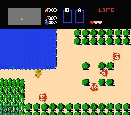 Image in-game du jeu Legend of Zelda, The sur Nintendo NES