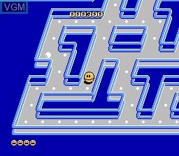 Image in-game du jeu Pac-Mania sur Nintendo NES