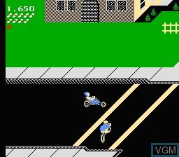 Image in-game du jeu Paperboy sur Nintendo NES