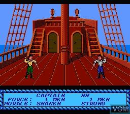 Image in-game du jeu Pirates! sur Nintendo NES