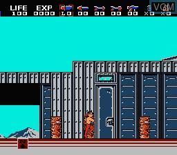 Image in-game du jeu Rambo - First Blood Part II sur Nintendo NES