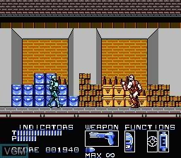 Image in-game du jeu RoboCop sur Nintendo NES