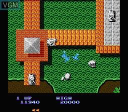 Image in-game du jeu Sky Shark sur Nintendo NES