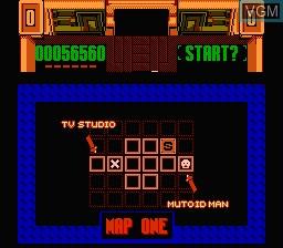 Image in-game du jeu Smash T.V. sur Nintendo NES