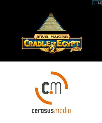 Image de l'ecran titre du jeu Jewel Master - Cradle of Egypt 2 3D sur Nintendo 3DS