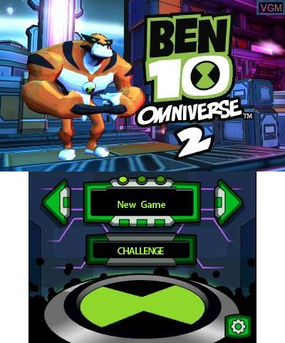 Image de l'ecran titre du jeu Ben 10 - Omniverse 2 sur Nintendo 3DS