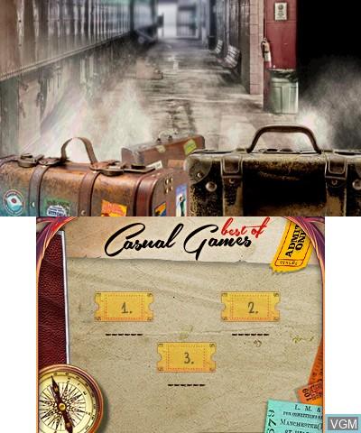 Image de l'ecran titre du jeu Best of Casual Games sur Nintendo 3DS