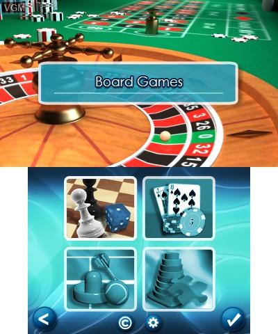 Image du menu du jeu 50 Classic Games sur Nintendo 3DS