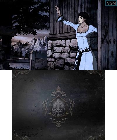 Image du menu du jeu Castlevania - Lords of Shadow - Mirror of Fate sur Nintendo 3DS