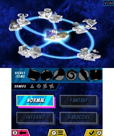 Image du menu du jeu Cartoon Network - Battle Crashers sur Nintendo 3DS