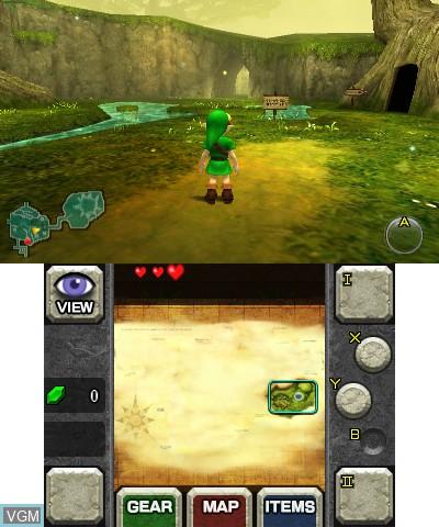 Legend of Zelda, The - Ocarina of Time 3D
