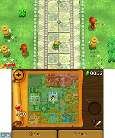 Legend of Zelda, The - A Link Between Worlds