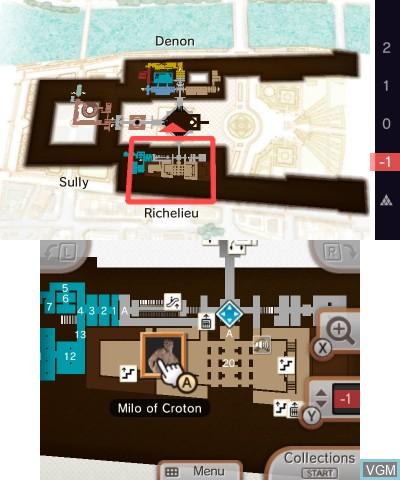 Nintendo 3DS Guide - Louvre