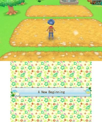 Harvest Moon 3D - A New Beginning
