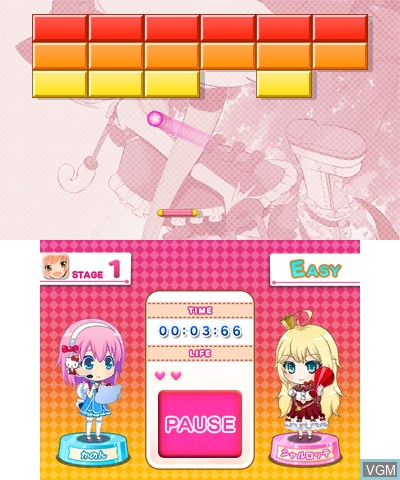 Hello Kitty to Issho! Block Crush Z