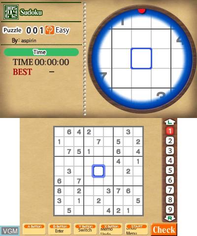 Nikoli no Sudoku 3D Dai-ni-Shuu - 8-tsu no Puzzle de 1000-Mon