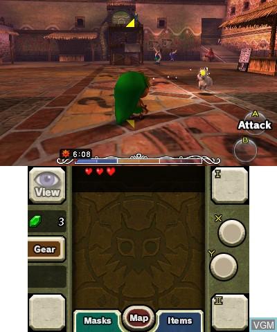 Legend of Zelda, The - Majora's Mask 3D