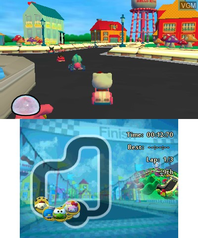 Hello Kitty and Sanrio Friends 3D Racing
