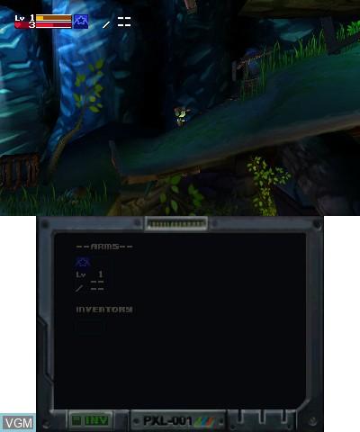 Image in-game du jeu Cave Story 3D sur Nintendo 3DS