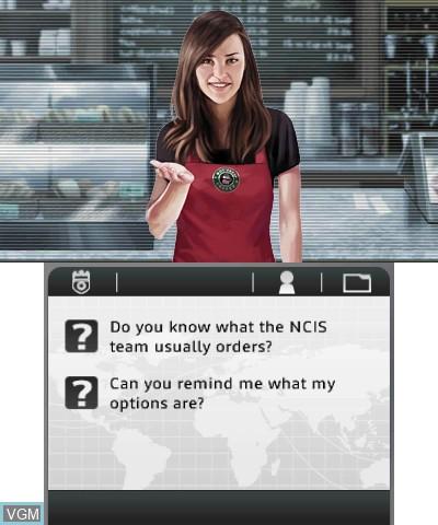 Image in-game du jeu NCIS 3D sur Nintendo 3DS