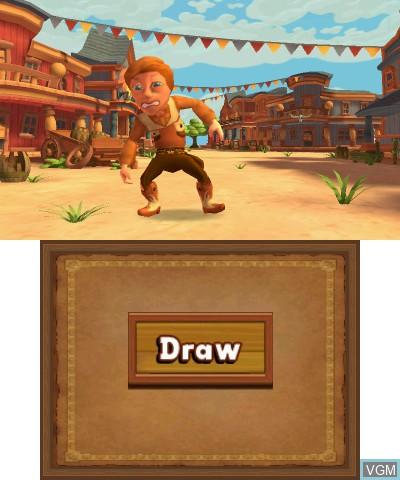 Image in-game du jeu Carnival Games - Wild West 3D sur Nintendo 3DS