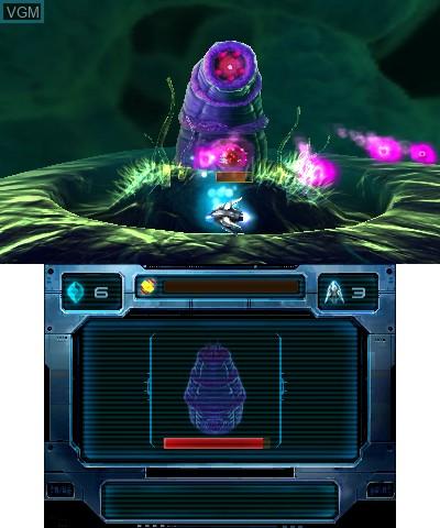 Image in-game du jeu Nano Assault sur Nintendo 3DS