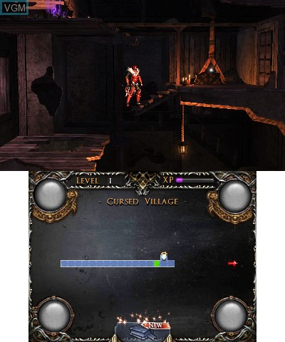 Image in-game du jeu Castlevania - Lords of Shadow - Mirror of Fate sur Nintendo 3DS