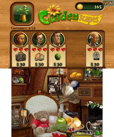Image in-game du jeu Gardenscapes sur Nintendo 3DS