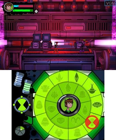 Image in-game du jeu Ben 10 - Omniverse 2 sur Nintendo 3DS