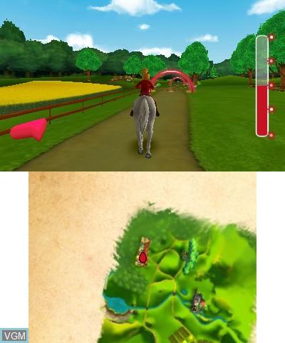 Image in-game du jeu Bibi & Tina - Das Spiel zum Film sur Nintendo 3DS