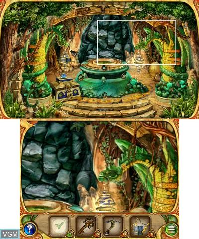 Image in-game du jeu 4 Elements sur Nintendo 3DS