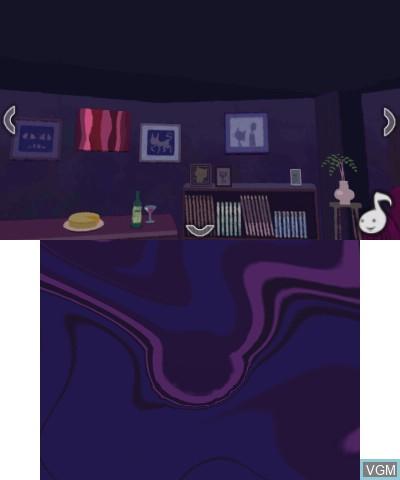 Image in-game du jeu Nazo waku Yakata - Oto no Ma ni Ma ni sur Nintendo 3DS
