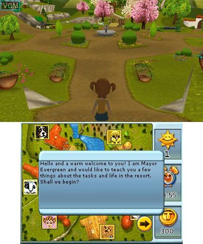 Image in-game du jeu 2 in 1 - My Vet Practice 3D and My Baby Pet Hotel 3D sur Nintendo 3DS