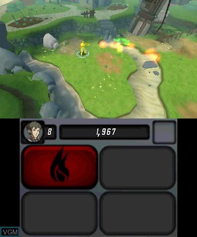 Image in-game du jeu Centipede - Infestation sur Nintendo 3DS