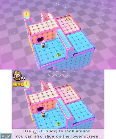 Image in-game du jeu Captain Toad - Treasure Tracker sur Nintendo 3DS