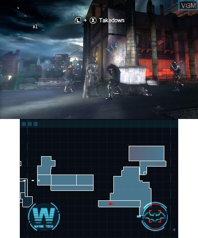 Image in-game du jeu Batman - Arkham Origins Blackgate sur Nintendo 3DS