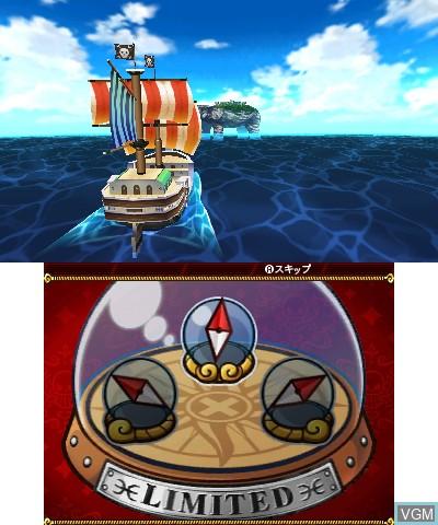 Image in-game du jeu One Piece - Daikaizoku Coliseum sur Nintendo 3DS