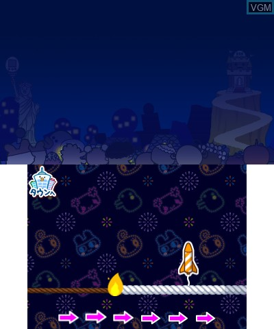 Image in-game du jeu Tamagotchi no Puchi Puchi Omisechi - Ninki no Omise Atsume Maseta sur Nintendo 3DS